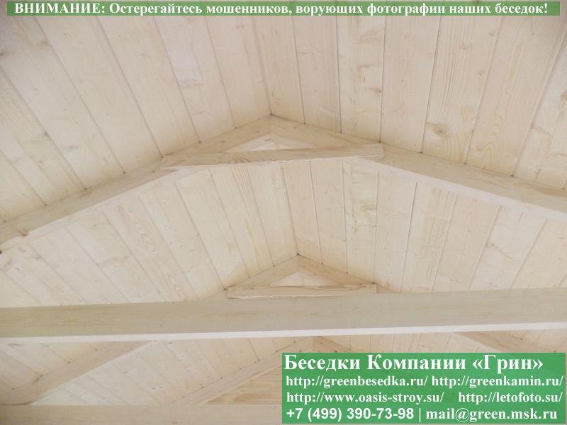 Проект беседки 4 на 4, цена 88000 рублей - Б-27
